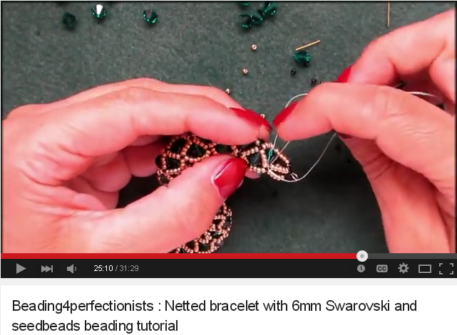 Learn from amateur and professional beading designers