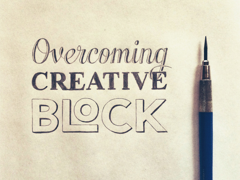 Overcoming creative block