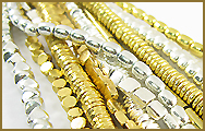How Solid Brass and Brass with Silver Finish Beads are Made