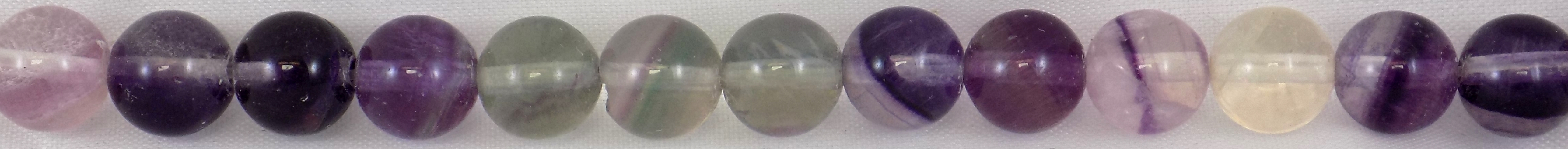 purple fluorite round beads 8mm wholesale gemstones