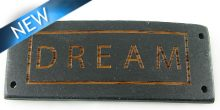 Message bracelet Dream component stained