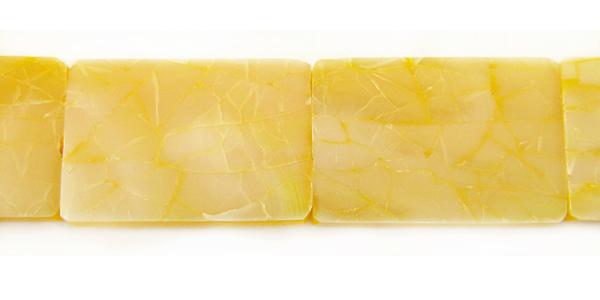 Shell cracking Yellow rectangular