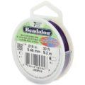 wholesale Beadalon 7 Purple 30'