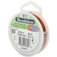 wholesale Beadalon 7 Pink 30'