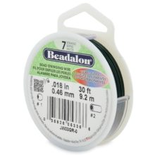 wholesale Beadalon 7 Green 30'