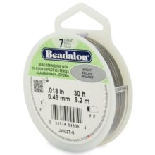 wholesale Beadalon 7 30' sp .46 Bright