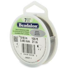 "wholesale Beadalon 7strd .018 ""Bright 100"""