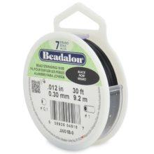 wholesale Black Beadalon 7 30'
