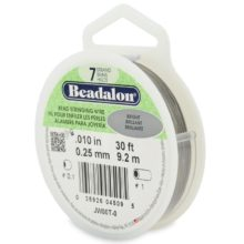 wholesale Beadalon 7 30' sp .25mm