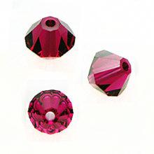 Swarovski 5328 Beads Bicone Ruby
