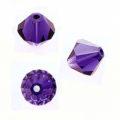 Swarovski 5328 Beads Bicone Purple Velvet