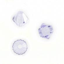Bicone Violet Swarovski Beads