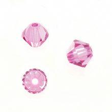 Swarovski 5301 Beads Bicone Rose