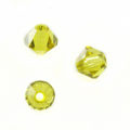 Swarovski 5301 Beads Bicone Lime