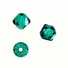 Swarovski 5328 Beads Bicone Emerald