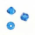 Swarovski Beads Bicone Capri Blue 5301