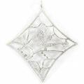 silver shine metal diamond 65mm wholesale pendants