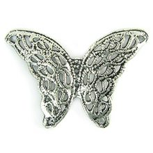 butterfly silver finish wholesale