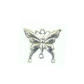 Metalcasted butterfly des antique silver wholesale