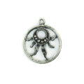 sun pendant silver finish wholesale