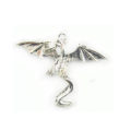 Metal casted dragon des silver plated wholesale