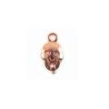 Metal casted skull design copper wholesale