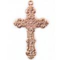 Metal casted cross design copper wholesale