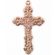 Metal casted cross design copper wholesale