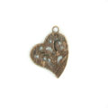 heart hammered copper finish wholesale