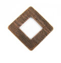 copper finish metal diamond 34mm wholesale