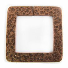 copper finish metal square 46mm hammer wholesale
