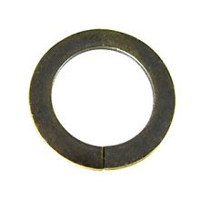 brass finish metal O ring 30mm plain wholesale