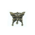 Metal casted butterfly design brass 23mm wholesale