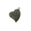 heart hammered brass finish wholesale