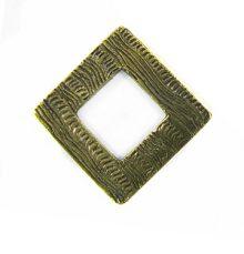 brass finish diamond 34mm corrugated wholesale