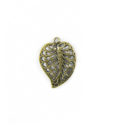 brass finish metal leaf 20mm wholesale