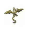 Metal casted dragon design brass wholesale