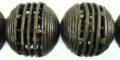 Round spiral wire des antique brass 25mm wholesale
