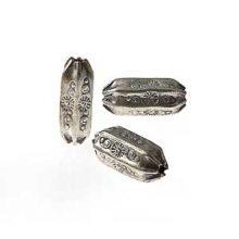 Thai Silver Beads 8x18mm