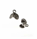 Thai Silver Spiral Design Beads wholesale