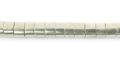 LS-Silver finish heishi 4mm x 3mm wholesale
