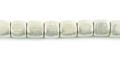 cube silver plate brass wholesale beads