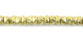 LS-Brass 4x3 chips small wholesale beads