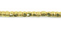 LS-Brass 4-sided 3mm cube wholesale beads