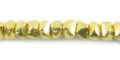 LS-6x4mm chips brass wholesale beads