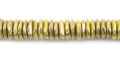 6mm chips brass wholesale beads