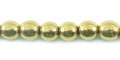 LS-6mm round brass wholesale beads