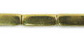 Brass square tube 5x15 wholesale beads