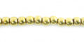 4mm round brass wholesale beads