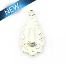 Embossed teardrop Antique silver wholesale